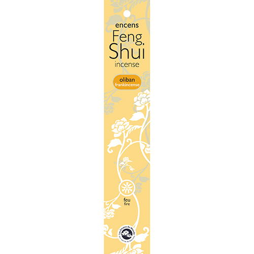 FENG SHUI INCENSE FIRE / FRANKINCENSE