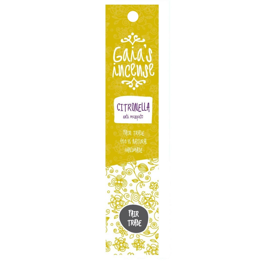 GAIA\'S INCENSE citronella