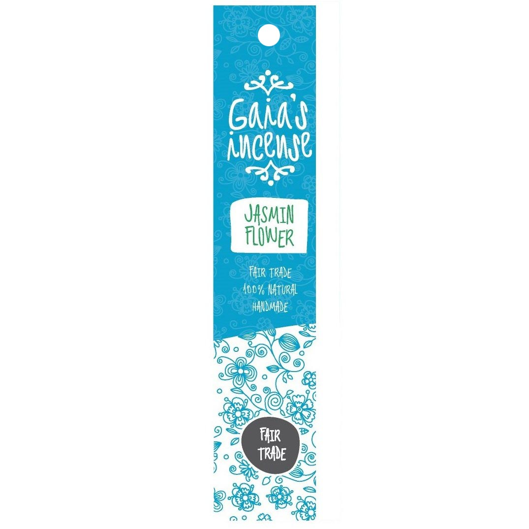 GAIA\'S INCENSE jasmin flower