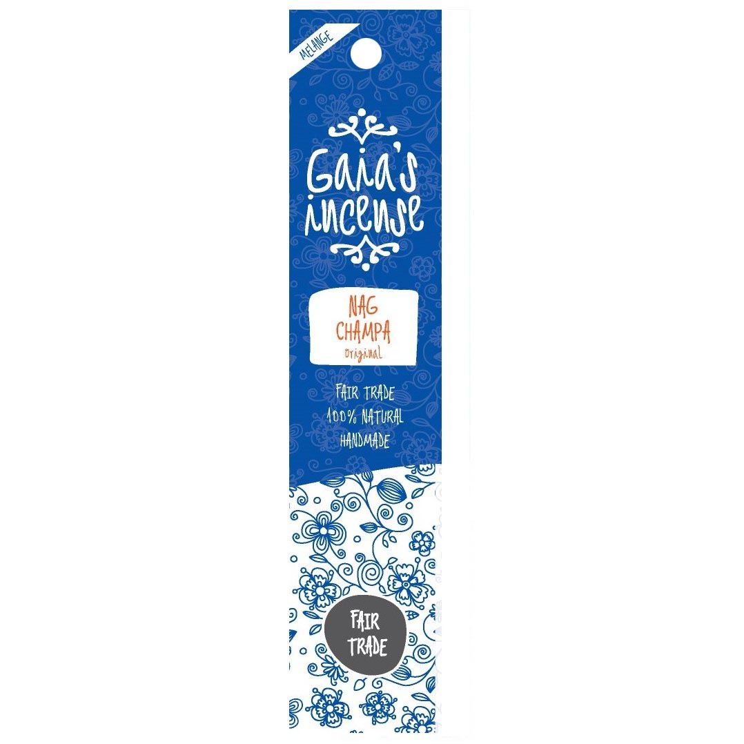 GAIA\'S INCENSE Nag Champa original