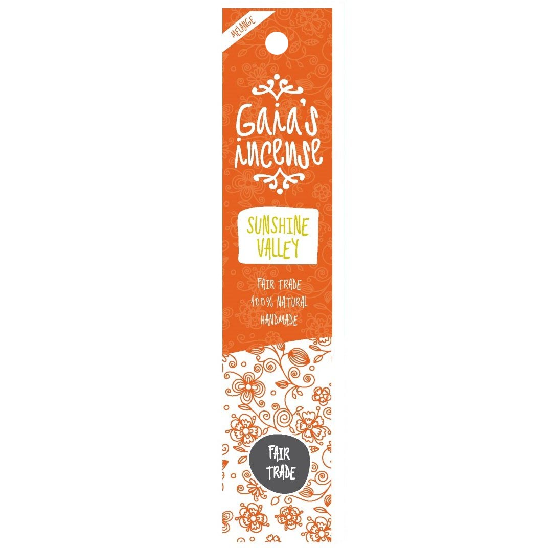 GAIA\'S INCENSE Sunshine Valley
