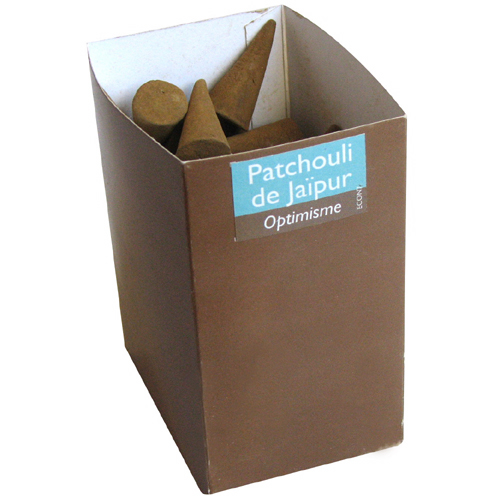 ECON 7 -  PATCHOULI ECO INCENSE CONES