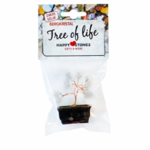 BAG OF LUCK Tree of Life Rock Crystal