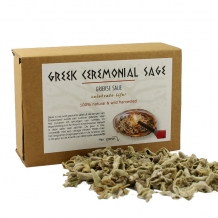 GREEK (ceremonial) SAGE 30 GRAM: with quantity discount