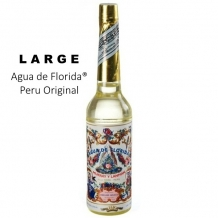 large FLORIDA WATER ORIGINAL PERU / AGUA / AQUA DE FLORIDA